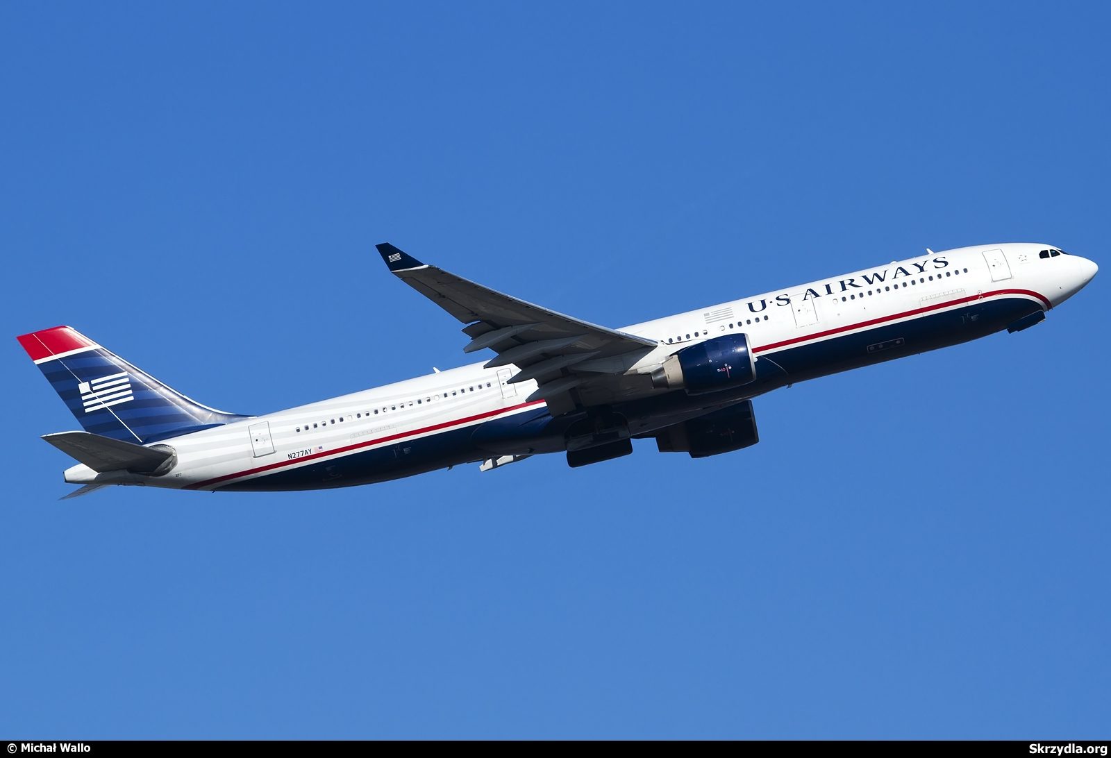 اولین ایرباس 330 تحویلی ایران N277AY Airbus A330-323 US Airways Michal Wallo JetPhotos
